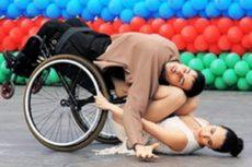 В Баку прошел Международный фестиваль спортивного танца среди инвалидов-колясочников