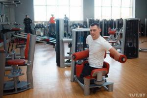 Алексей Талай готовится к Паралимпиаде