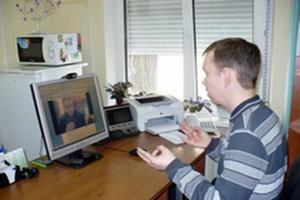 В Могилеве организовали консультирование инвалидов с нарушением слуха через Skype