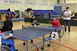 Витебск примет открытый чемпионат Беларуси по настольному теннису среди колясочников