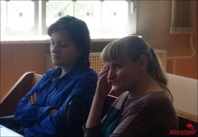 Представители истца Наталья Ясинская (слева) и Наталья Шорникова