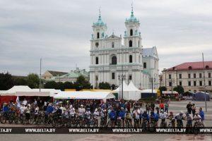 Восьмидневный волонтерский велопробег в поддержку людей с инвалидностью свяжет Гродно и Минск