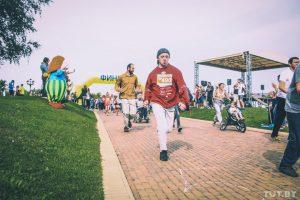 """""""Команда ангелов"""" провела благотворительный фестиваль бега"""