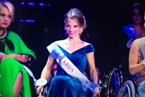 Александра Чичикова из Беларуси - Мисс мира на инвалидной коляске