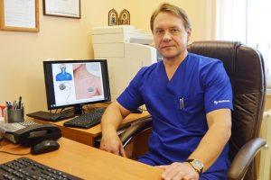 врач-нейрохирург Михаил Талабаев