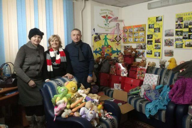 Благотворительная помощь из Польши передана Могилевскому детскому хоспису