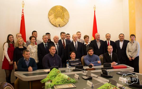 В Гродно состоялось чествование спортсменов области - призеров чемпионатов мира и Европы