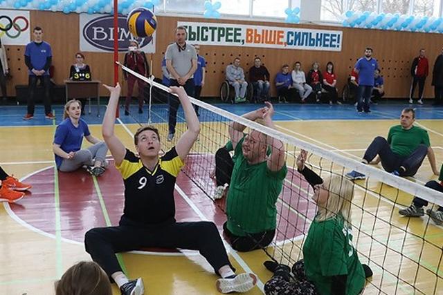 Паралимпийский фестиваль собрал в Витебске участников из Беларуси и России