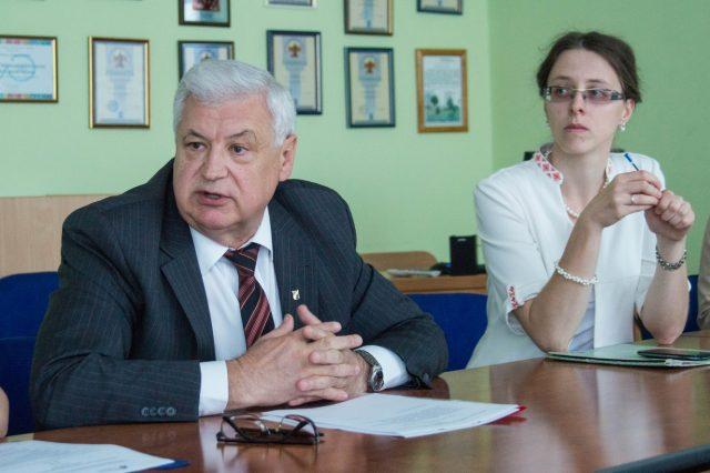 Наталья Борисенко-Клепач и Леонид Гайдукевич