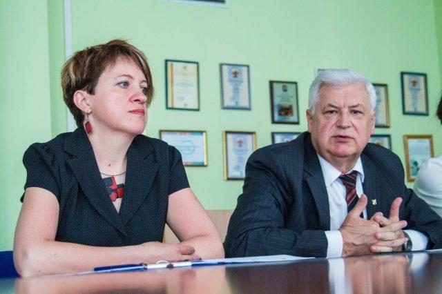 Наталья Шавель и Леонид Гайдукевич