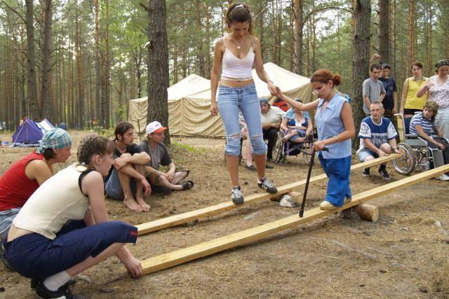 Летний интеграционный палаточный лагерь-семинар «Круглое озеро-2018»