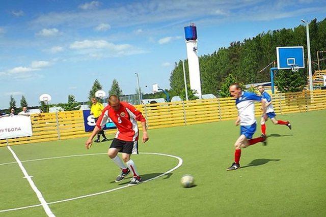 Турнир по мини-футболу среди домов-интернатов пройдет на берегу Вилейского водохранилища