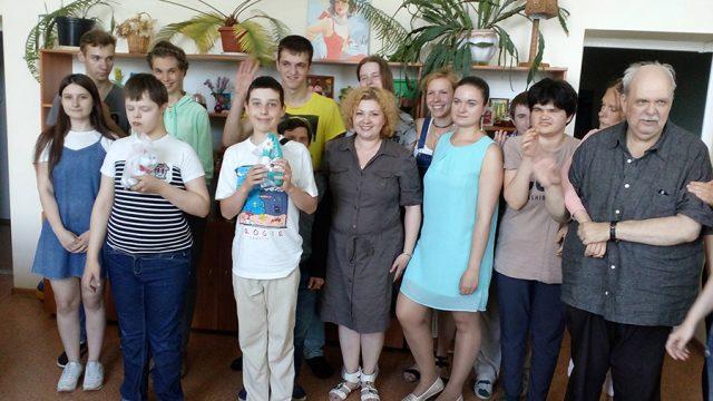 В ТЦСОН Советского района провели акцию для детей-инвалидов