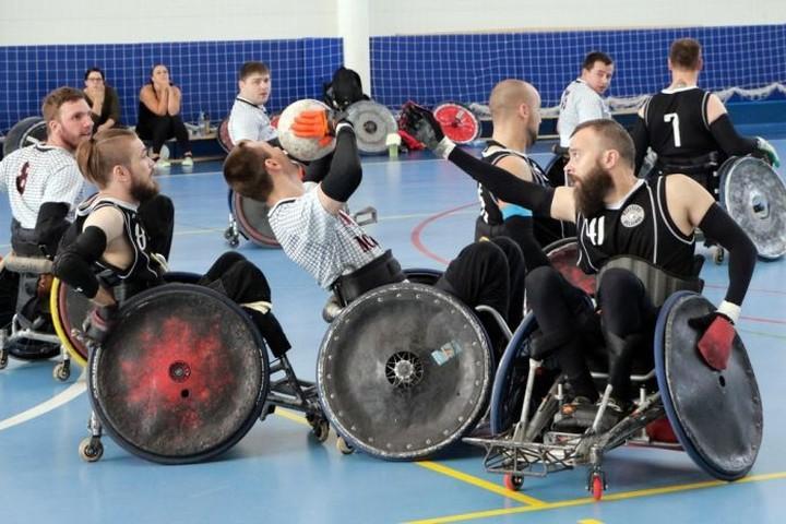 Идёт голосование за проект «Регби на колясках». Поддержим!!!