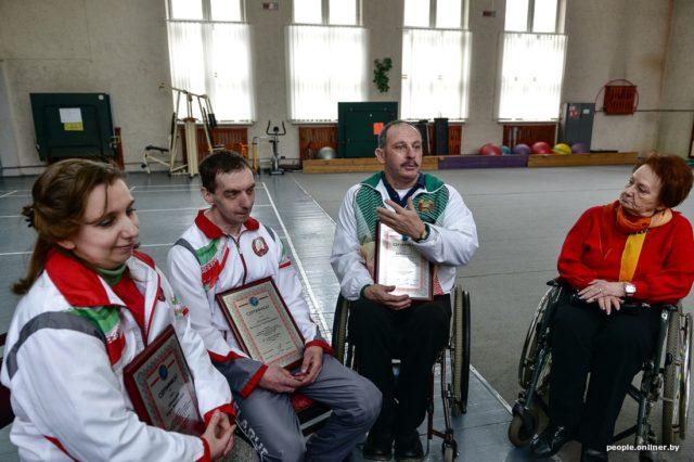 Рекордсмены с инвалидностью