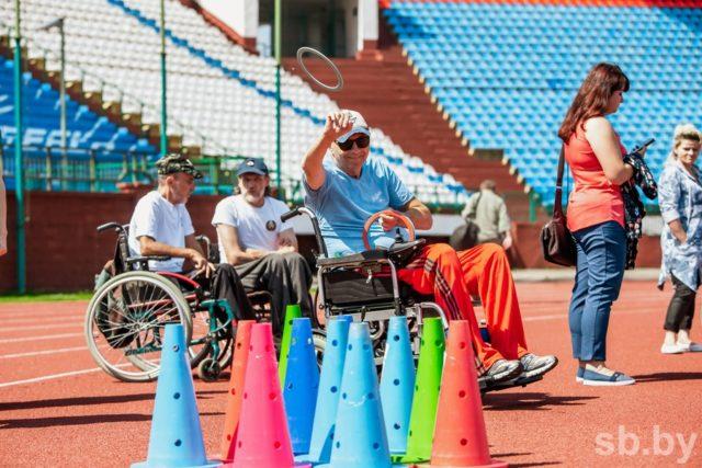 Гонки на колясках, дартс и бочче «Спорт для всех»
