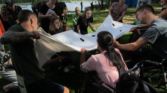 Летний интеграционный палаточный лагерь-семинар «Круглое озеро-2019»
