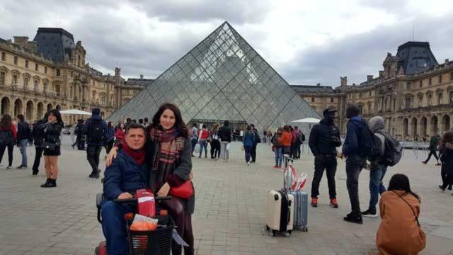 Дамир Миллер с супругой