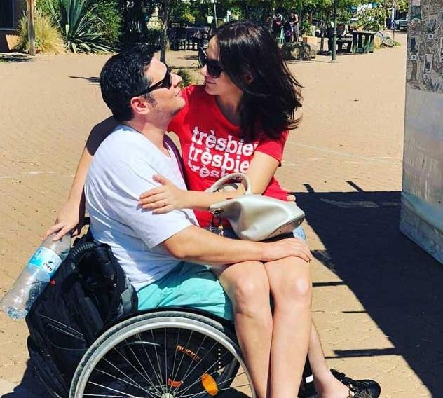 Дамир Миллер и его женa Талия. Фото: личный архив