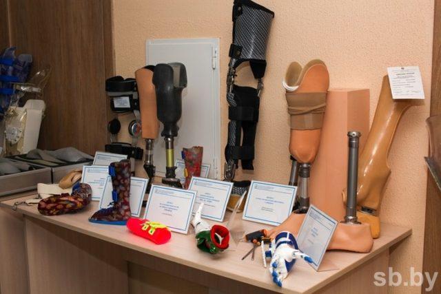 Белорусский протезно-ортопедический восстановительный центр показал новинки социальной реабилитации инвалидов