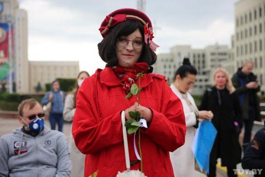 Марш людей с инвалидностью в Минске