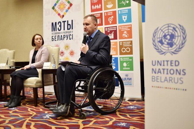 Евгений Шевко, председатель общественного объединения «Республиканская ассоциация инвалидов-колясочников»