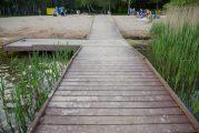 Инклюзивный пляж №2 наЦнянском водохранилище