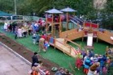 Игровая площадка для детей с ограниченными возможностями