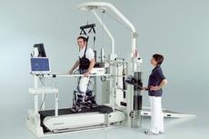 Тренажерный комплекс Locomat (роботизация ходьбы)