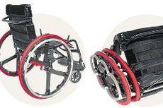 Кресло-коляска... со складывающимися колесами