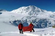 Позади Эльбрус и Казбек, впереди - Килиманжджаро и Монблан