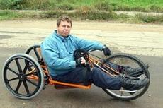 Алексей Климов на своём хенд-байке путешествует по Верхневолжью.