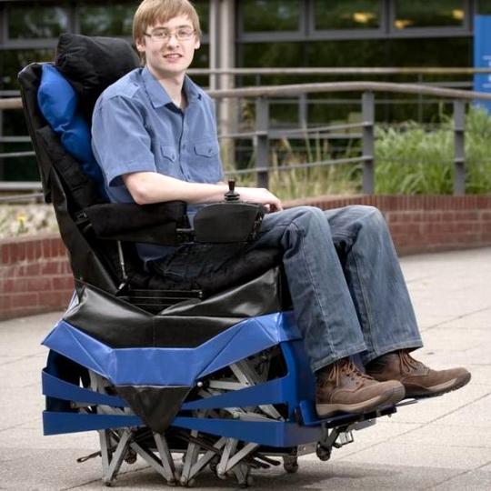 Walking Chair - шагающая инвалидная коляска