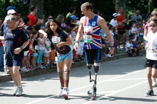 "Центральный парк Нью-Йорк ""Achilles Hope and Possibilities Race 2011"""