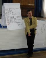Председатель совета директоров Общественного объединения «Центр социальных инноваций» Леонид Калитеня