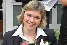 Вице-чемпионка пекинской Паралимпиады-2008 в академической гребле Людмила Волчек