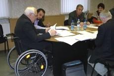 Работа Президиума ЦП ОО «БелОИ», состоявшегося 25 октября 2012 года