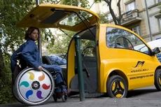 Мини-электромобиль для людей с ограниченными возможностями