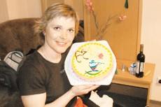 Паралимпийская чемпионка Людмила Волчек стала мамой