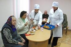 Отделение круглосуточного пребывания для стариков и инвалидов открывается сегодня в г.п.Острино