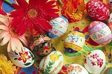 Экспозиция живописи и декоративно-прикладного искусства «Светлый праздник Пасхи»