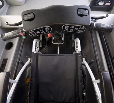 Kenguru: электромобиль для инвалидов-колясочников
