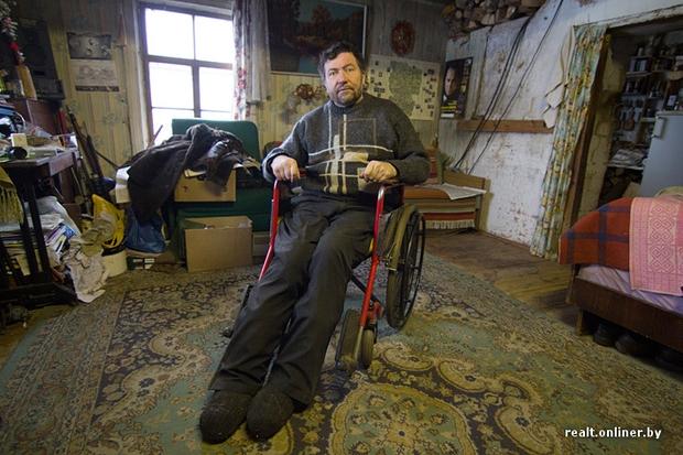 Валентин Грицук фермер колясочник владеет миллионами, но денег у него нет